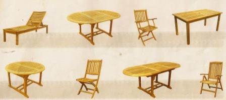 Pergolas de madera y mobiliario de jardin for Mobiliario jardin madera