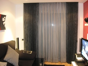 Cortinas tienda en l hospitalet de llobregat barcelona - Barras de forja para cortinas ...